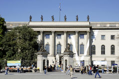 Humboldt university in Berlin Royalty Free Stock Photo
