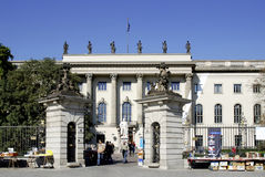 Humboldt university in Berlin Royalty Free Stock Images