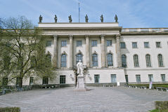 Humboldt University in Berlin Stock Photography