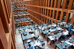 Humboldt University Library in Berlin, Germany Stock Photo