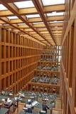 Humboldt University Library in Berlin stock image