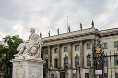 Humboldt Uniwersytecki Berliński Niemcy Obrazy Stock