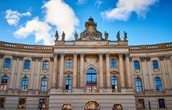 Humboldtuniversiteit van Berlijn, Duitsland royalty-vrije stock foto's