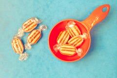 Humbug sweets Stock Image