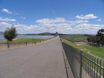 Hume dam. Victoria state australia Royalty Free Stock Photos