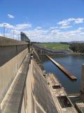 Hume dam. In Vic, australia Stock Image