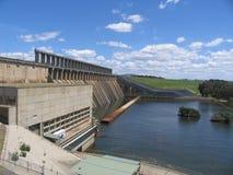Hume dam. In Vic,australia Royalty Free Stock Photo