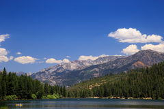 Hume Lake. Lazy afternoon at Hume lake, Sequoia national forest, Fresno California Stock Photos