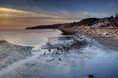 Humedal de la roca blanca Foto de archivo libre de regalías