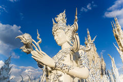 Humen statue at Wat Rong Khun Stock Photos