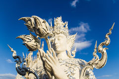 Humen statue at Wat Rong Khun Royalty Free Stock Image