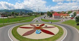 Humenne roundabout Stock Photo