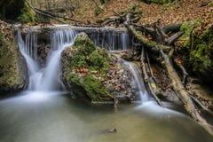 Humeur d'automne au ruisseau Image libre de droits