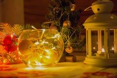 Humeur de fête de nouvelle année Photographie stock libre de droits