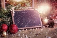 Humeur de fête de Noël Images libres de droits