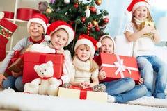 Humeur de Noël Photos libres de droits