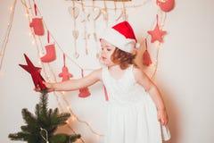 Humeur de temps de Noël Photo libre de droits
