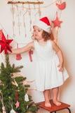 Humeur de temps de Noël Image libre de droits