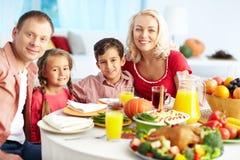 Humeur de thanksgiving Photos libres de droits