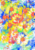 Humeur florale. Photos stock
