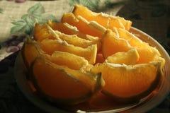Humeur orange Photo libre de droits