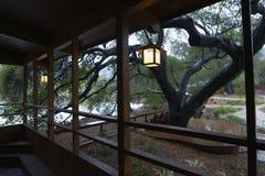 Humeurige regenachtige middag stock fotografie