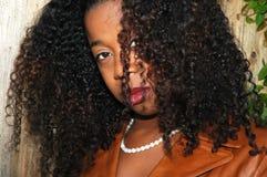Humeurige vrouw Royalty-vrije Stock Foto's