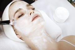 Humidification process. In beauty salon Royalty Free Stock Photos