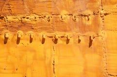 Humidité de mur photographie stock