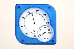 Humidité et température Photo stock