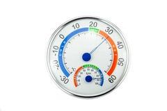 Humidité et température de mesure images stock