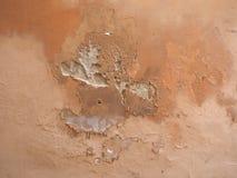 Humidité humide sur le mur images stock