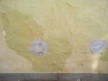 Humidité humide sur le mur photographie stock