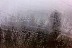 Humidité sur la surface douce image stock