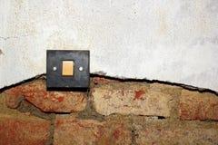 Humidité sur le mur images stock