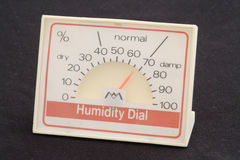 Humidity Dial Royalty Free Stock Images