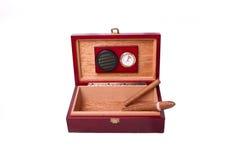 Free Humidor And Cigars Royalty Free Stock Photos - 21775008