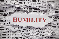 Humility Stock Image