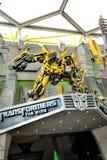 Hummel von den Transformatoren in Universal Studios Lizenzfreie Stockfotografie