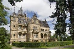 hummelshain schloss pałacu. Obrazy Stock