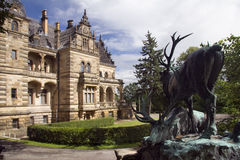 hummelshain schloss pałacu. Fotografia Royalty Free