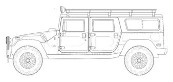 Hummer Royalty Free Stock Photos