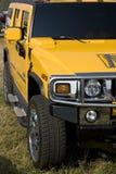 Hummer-Gelb Stockfoto