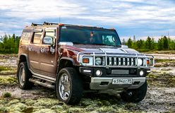Hummer H2 Stock Foto's