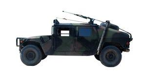 Hummer H1 del vehículo militar de los E.E.U.U. Imagen de archivo libre de regalías