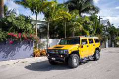 Hummer H2 Royalty Free Stock Photography