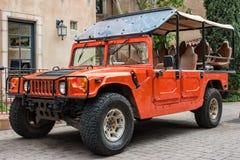 Hummer for hire, Sedona, Arizona stock photos