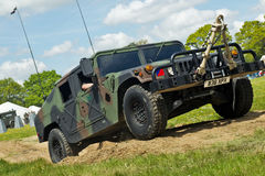 Hummer military vehicle Stock Images
