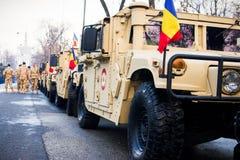 Hummer pojazd wojskowy Zdjęcie Royalty Free