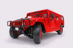 Hummer Station Wagon. Maisto  1:18 scale diecast miniature replica Royalty Free Stock Photos